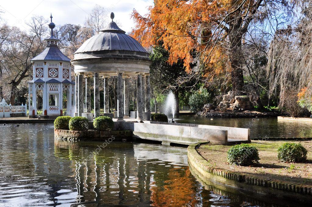Chinescos pond, Prince's garden, Aranjuez (Madrid)