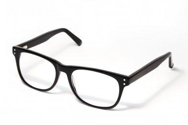 Black Eye Glasses Isolated on White stock vector