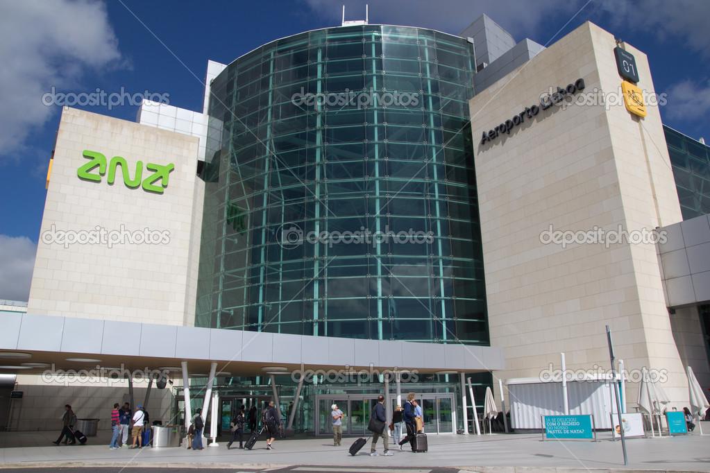 Aeroporto Lisbona : Aeroporto di lisbona — foto editoriale stock