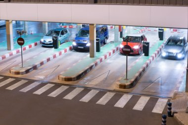 Airport Parking Garage