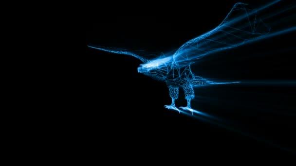 blau Licht Adler