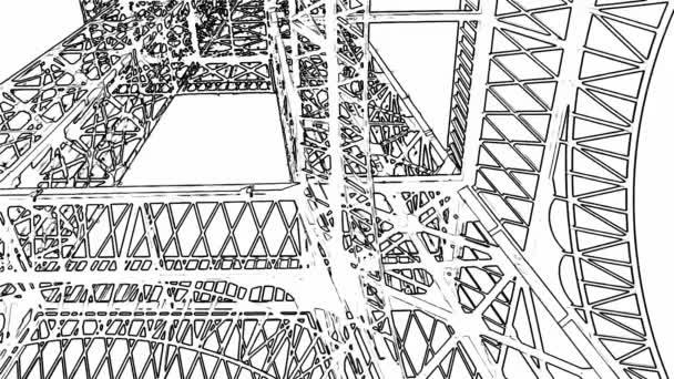 Graphics of Eifel Tower
