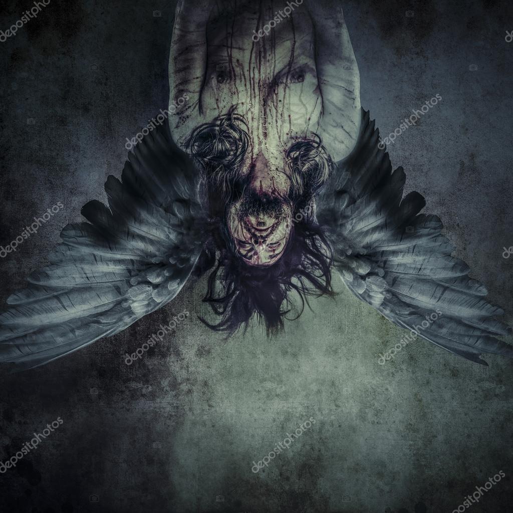 Fallen Angel Of Death Stock Photo C Outsiderzone 38086591
