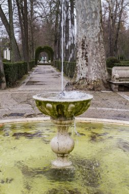 Ornamental fountains of the Palace of Aranjuez