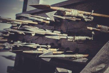 Medieval siege weapons