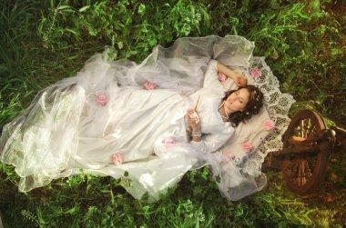 Sleeping forest beauty