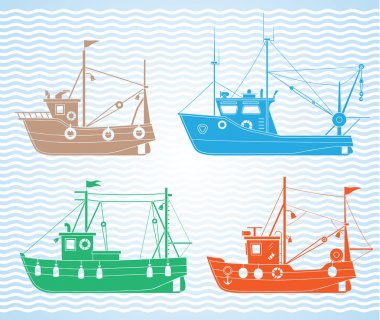 Download Commercial Fishing Free Vector Eps Cdr Ai Svg Vector Illustration Graphic Art