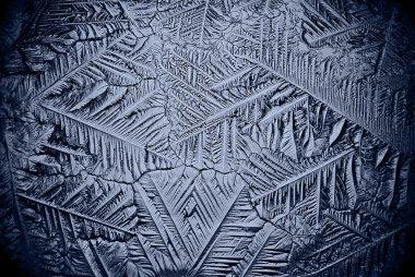 ice background microscopic