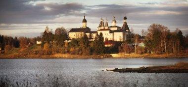"Картина, постер, плакат, фотообои ""вологодский монастырь, ферапонтов мир"", артикул 22166329"
