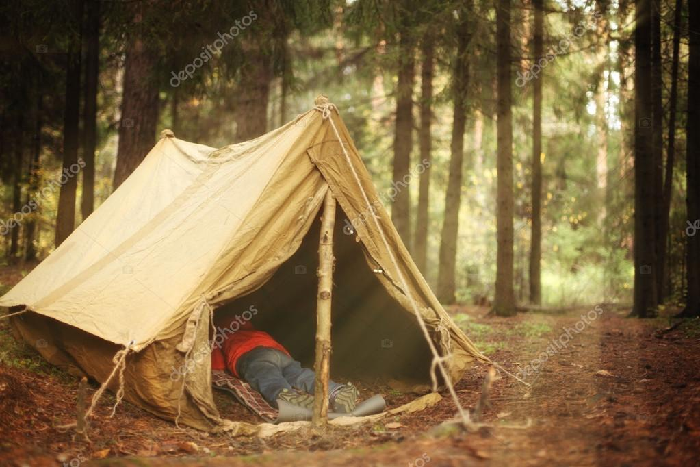 how to make a homemade tent for camping