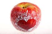 Fotografia mela rossa