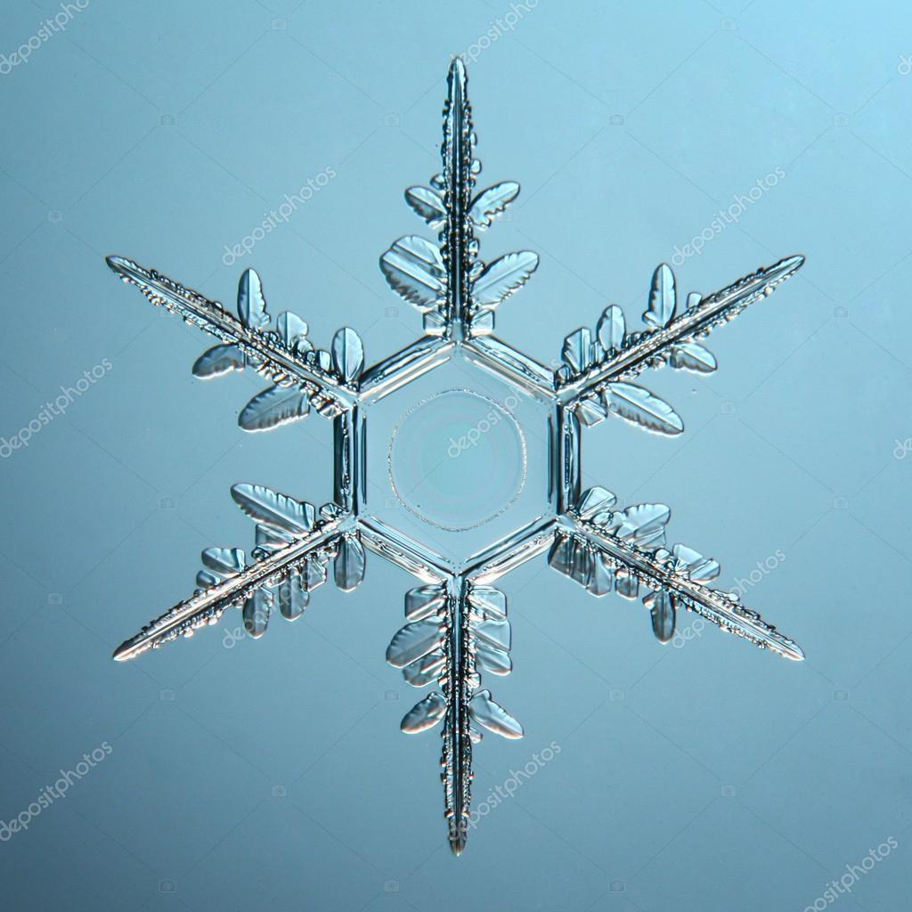Natural snowflake