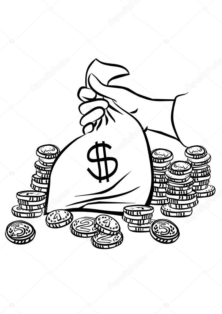 картинки мешок с деньгами распечатать вот реальности, сожалению
