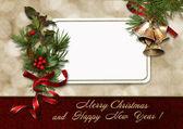 Fotografie Weihnachten Grußkarte