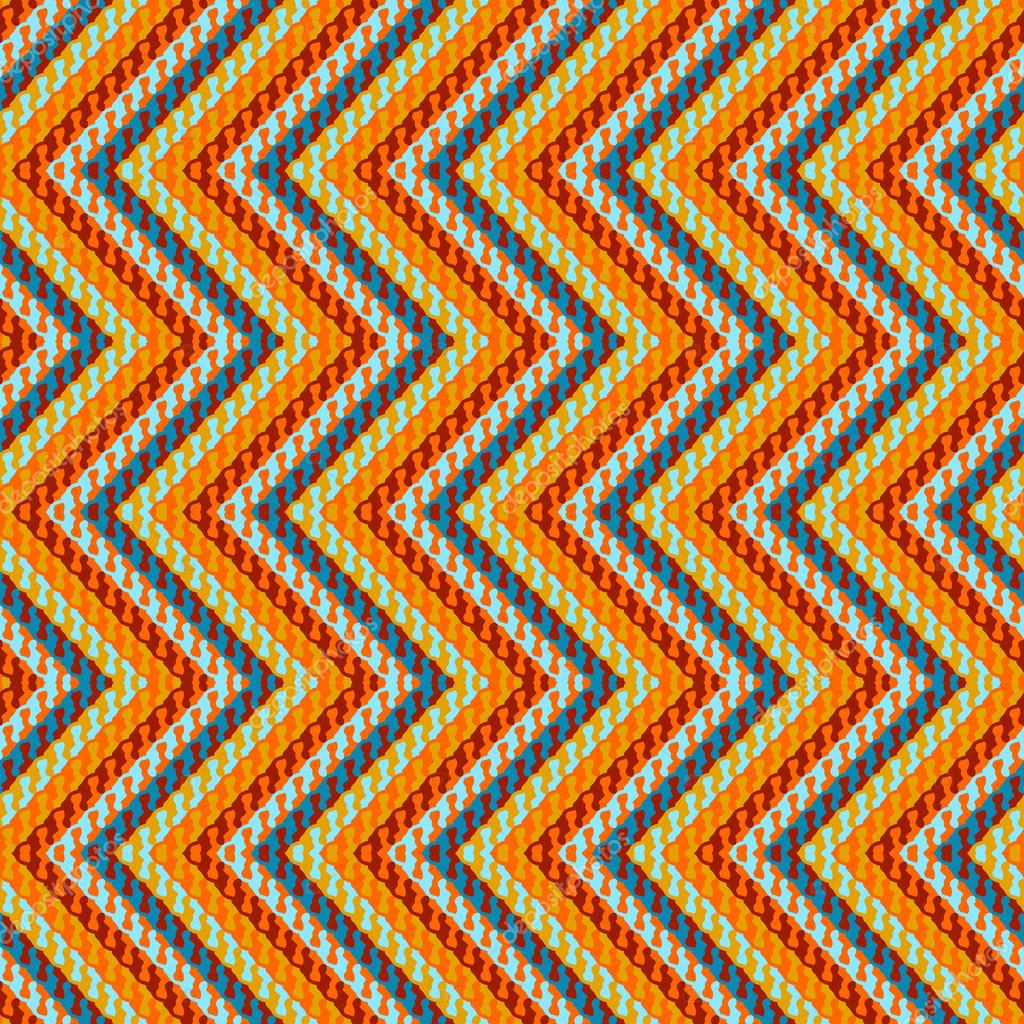 patrón geométrico en zig-zag — Archivo Imágenes Vectoriales © tukkki ...