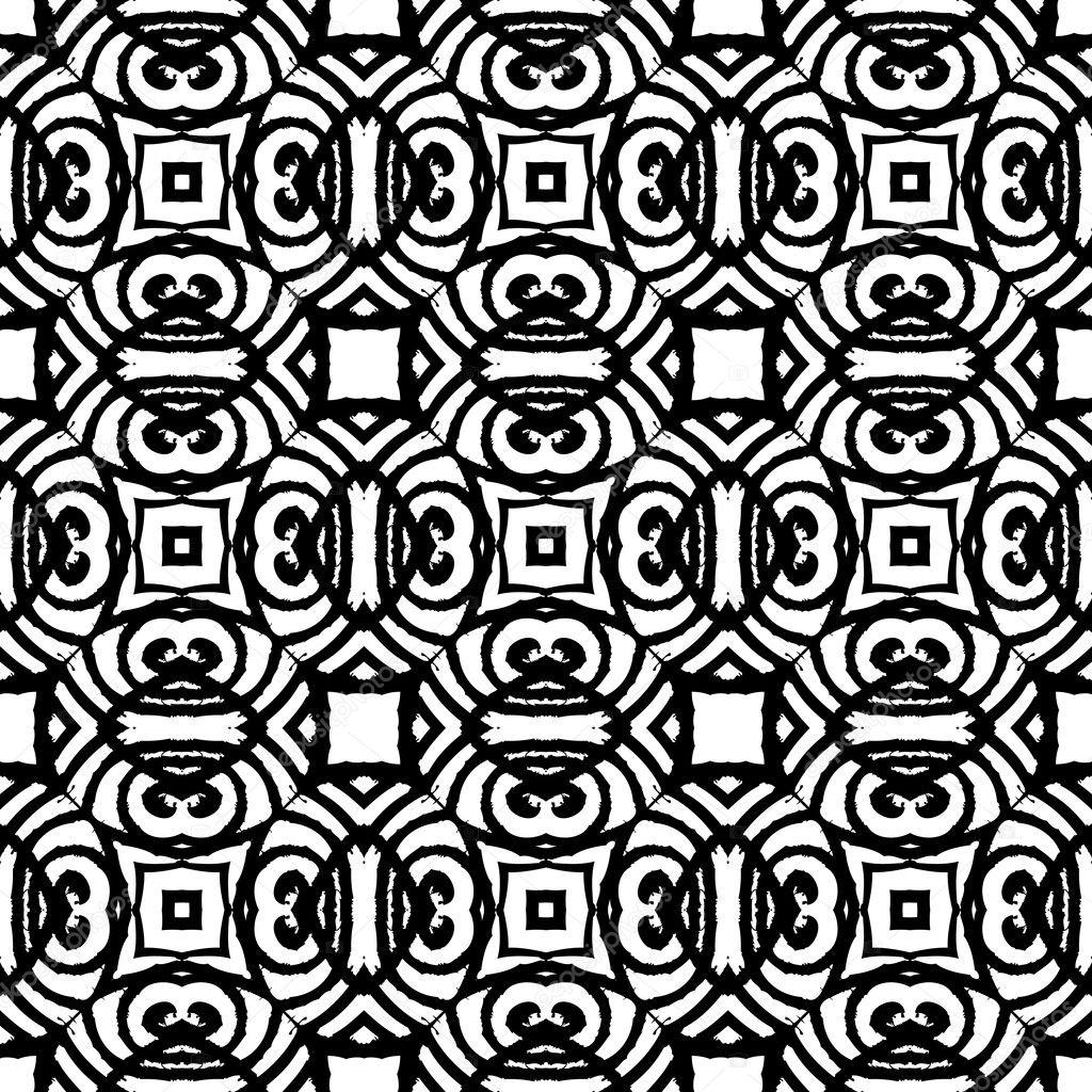 Papel Deco Blanco Y Negro Para Imprimir Patrón De Estilo Art Deco