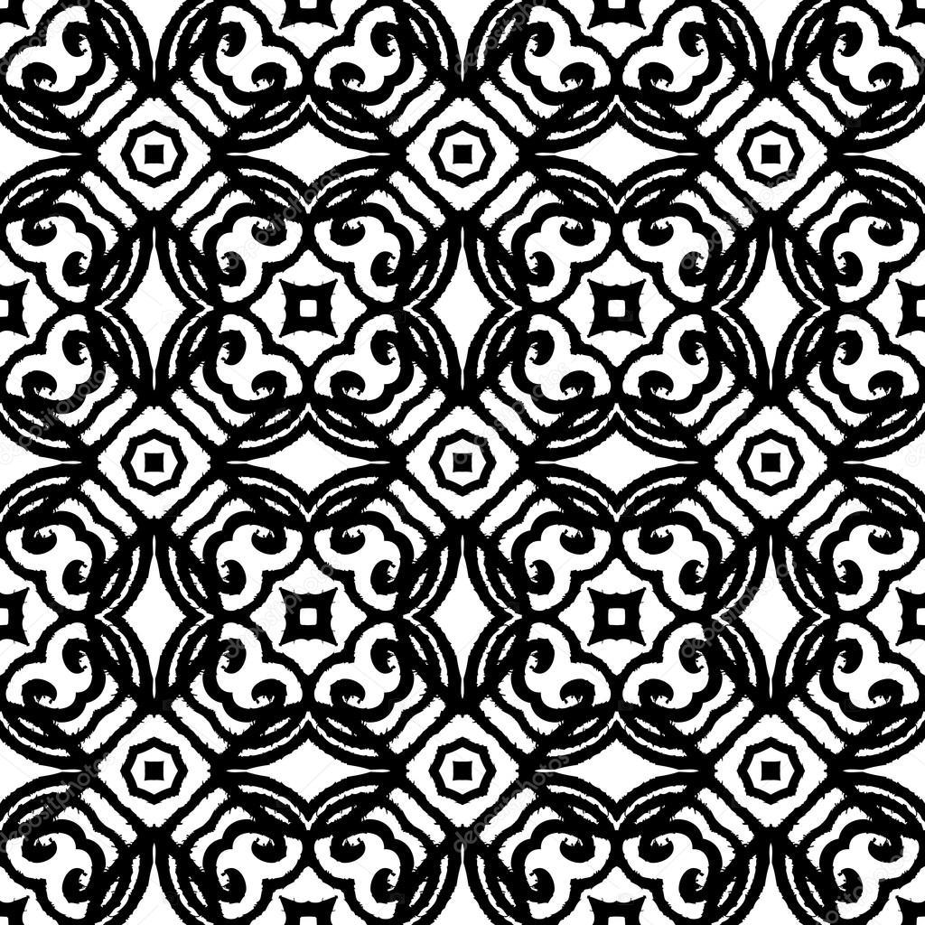 motif art d co vintage vector en noir et blanc image vectorielle tukkki 42356841. Black Bedroom Furniture Sets. Home Design Ideas