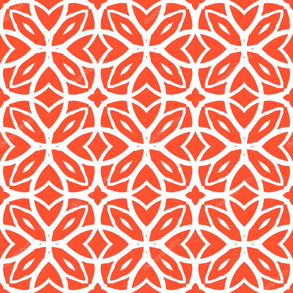 Vektor-Art-Deco-Muster mit Schnürung Formen — Stockvektor © tukkki ...