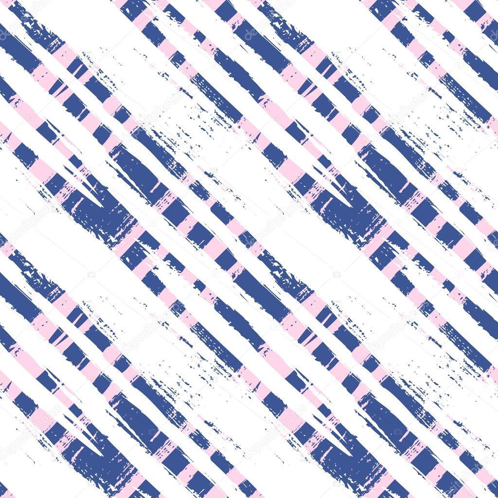 patrón de cuadros con pinceladas amplia y rayas — Archivo Imágenes ...