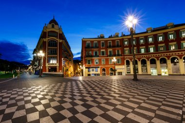 Place Massena in the Early Morning, Nice, French Riviera, France
