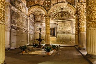 Rich Interior of Palazzo Vecchio (Old Palace) a Massive Romanesq