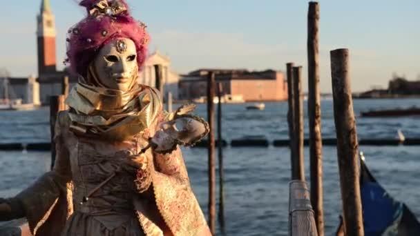 maska na karneval v Benátkách