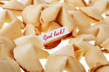 GOOD LUCK! - backlit fortune cookies