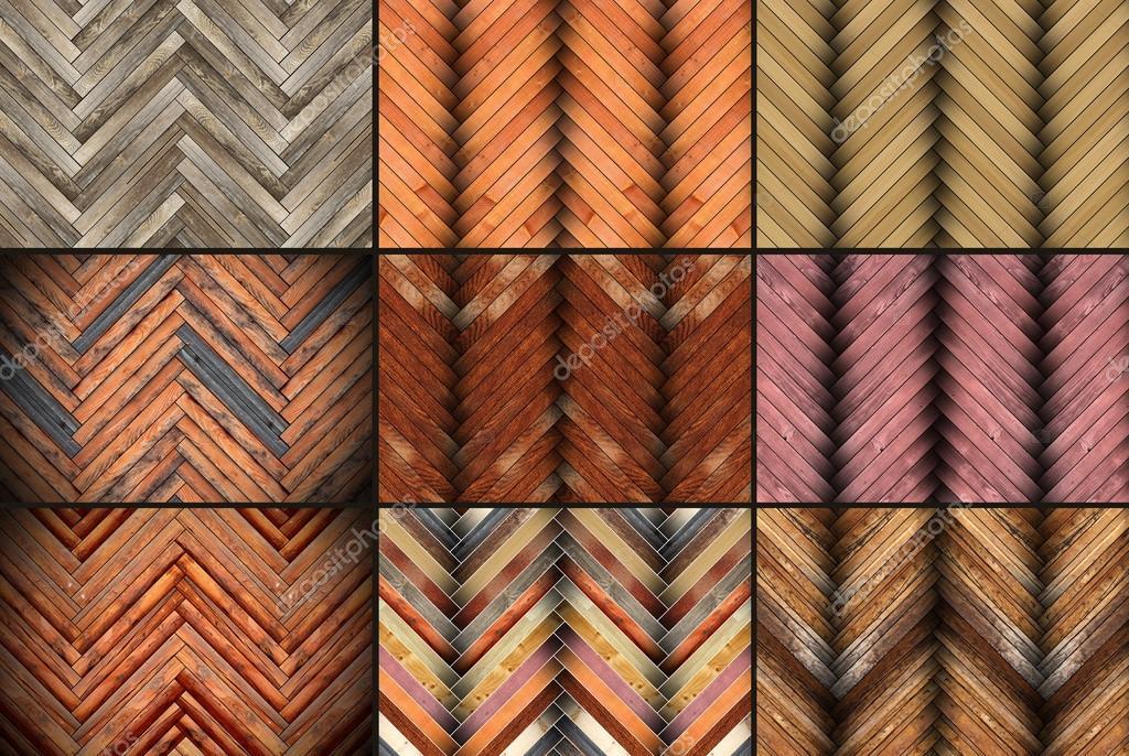 Parkett farben muster  mit Parkett-Muster-Kollektion — Stockfoto #39372241