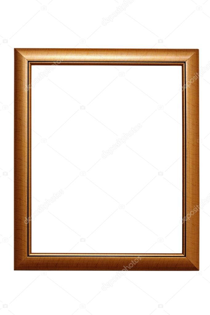 einfache Rahmen auf weiß — Stockfoto © taviphoto #41223009