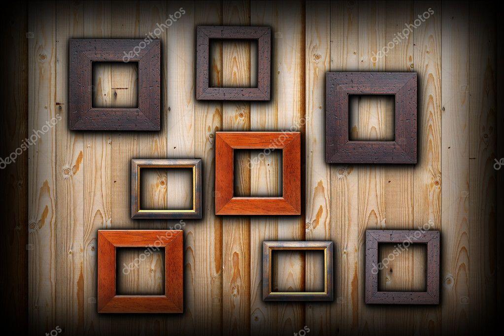 Marcos marrón y beige — Foto de stock © taviphoto #48829121