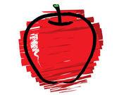 náčrtek jablka