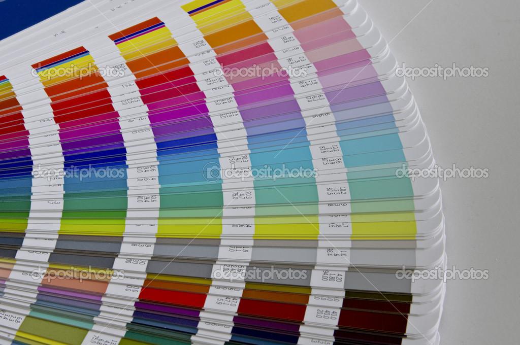 pantone sample colors catalogue stock photo pilcas 14172288