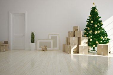 Christmas moving house