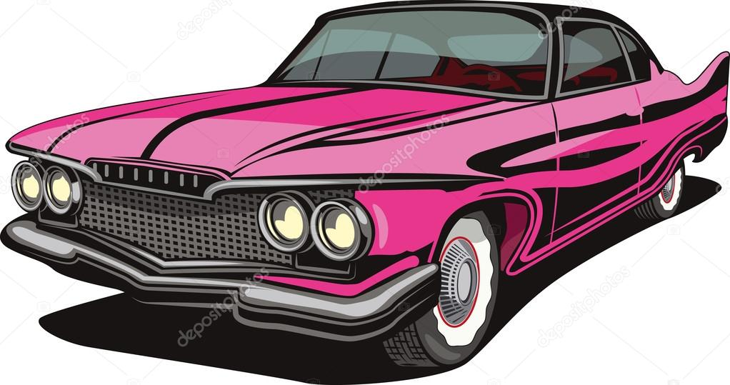 Old time car — Stock Vector © Lukaves #19827525
