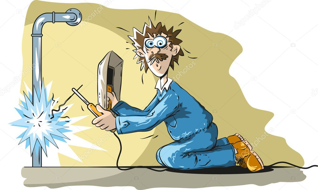 funny welder � stock vector 169 lukaves 26841751