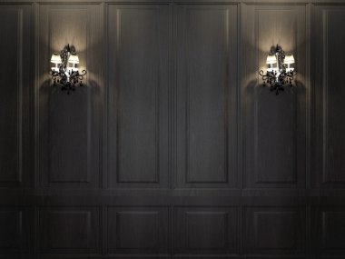 Sconces on wall