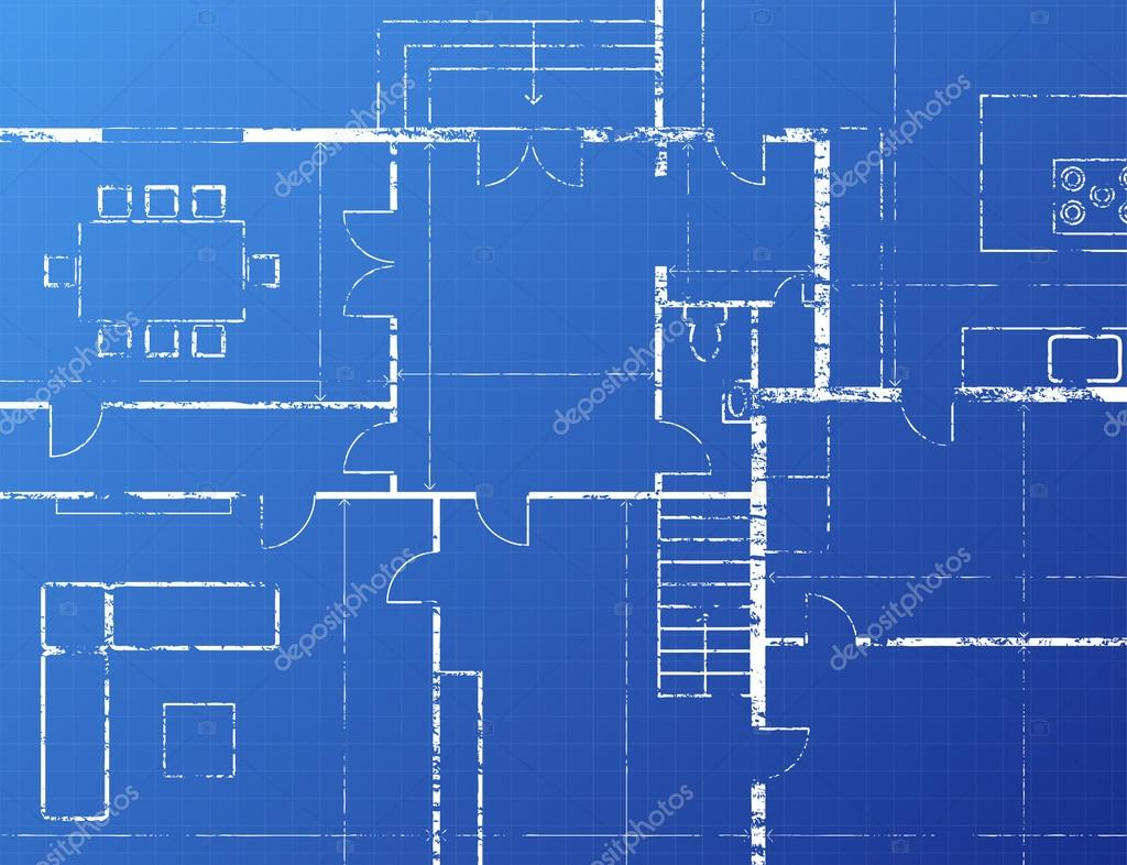 Blueprint stock vector eyematrix 14182131 for Blueprint architects