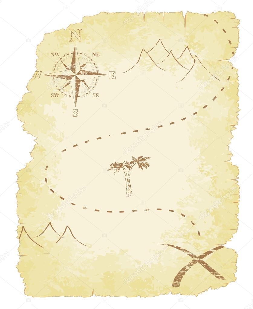 Treasure Island Map Background