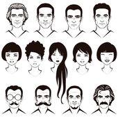hlavní postava muže a ženy