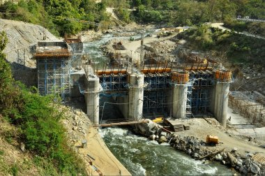 Construction of Hydro Power Stations