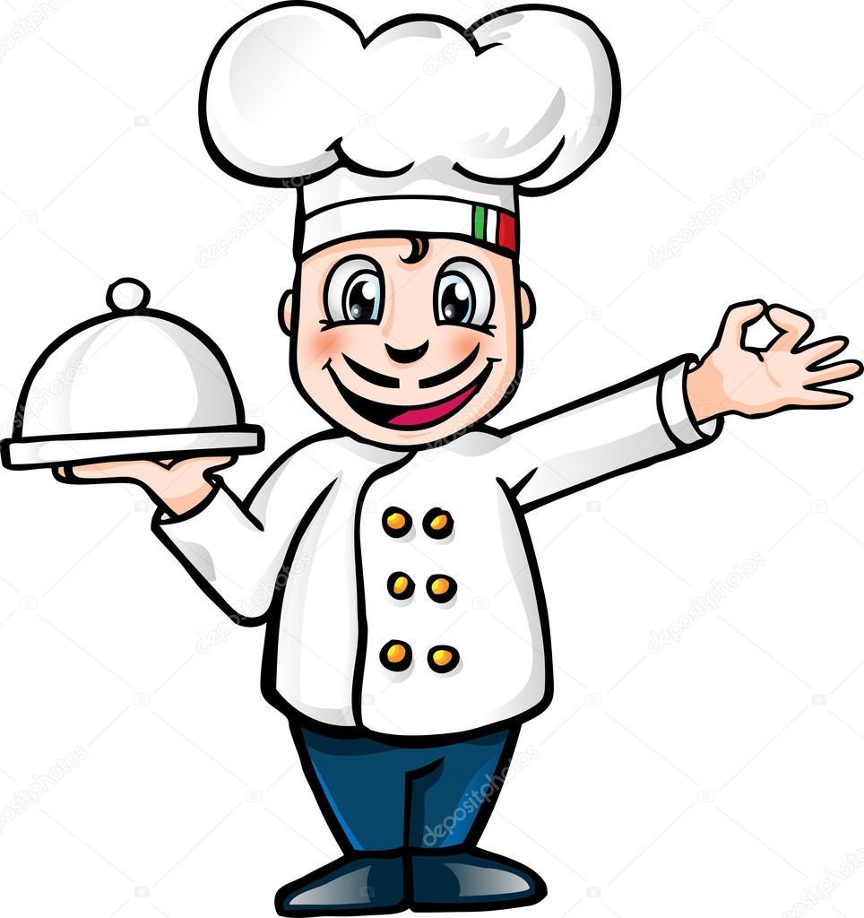 Znalezione obrazy dla zapytania kucharz obrazek
