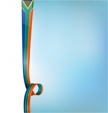 south africa background vertical flag