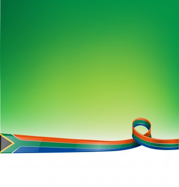 south africa background flag