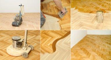 Home renovation, parquet