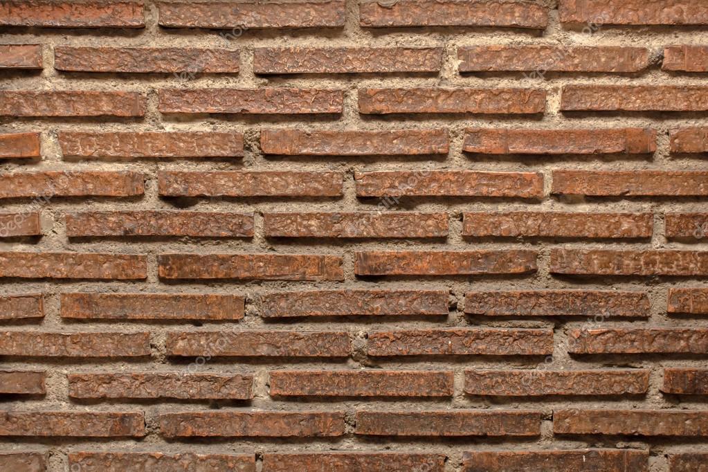 backsteinmauer stockfoto streichen
