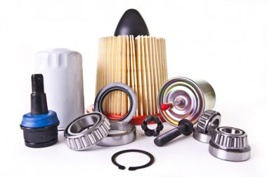 Assortment of Auto Engine Parts