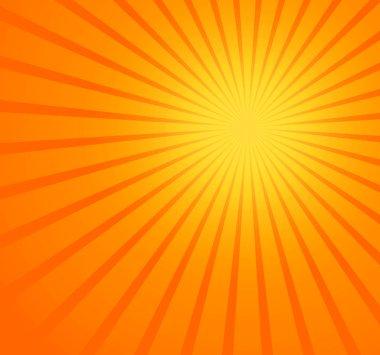 sun beams background