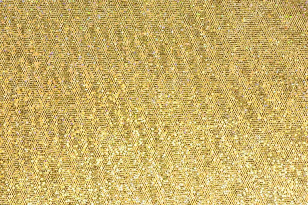 Pareti Glitter Oro : Parete scintillante di paillettes u2014 foto stock © mikeaubry #45243603
