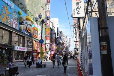 OSAKA - OCT 23: Dotonbori on October 23, 2012 in Osaka, Japan.