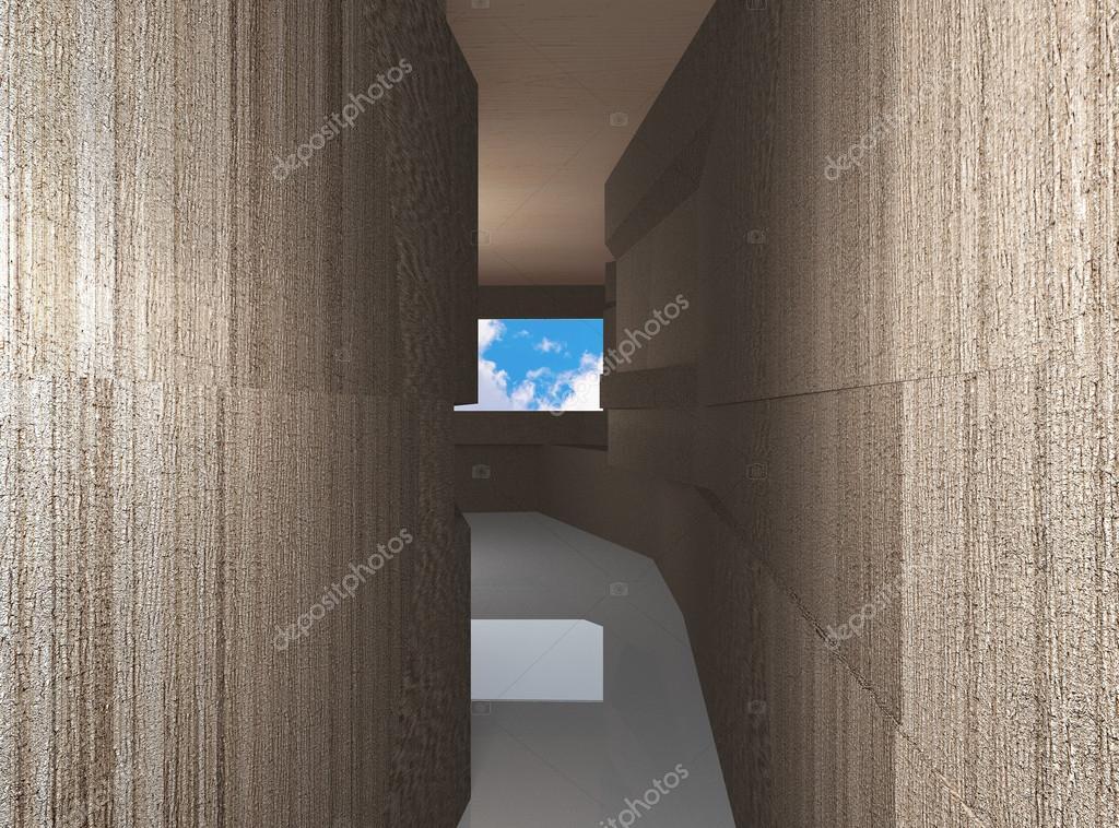 Decoratie Interieur Corridor : Futuristische interieur corridor u stockfoto siraanamwong